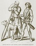 House Servant and Porter, Early Fourteenth Century