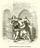 Clarence drowned in the Butt of Malmsey