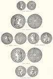 Coins of Time of King Charles II and James II