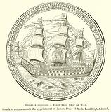 Medal Exhibiting a First-Rate Ship of War