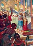 The Boy Joash crowned King