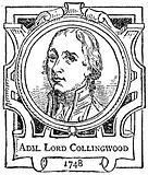 Adm. Lord Collingwood.