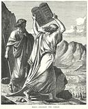 Moses Destroys the Tables