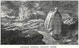 Abraham looking towards Sodom