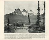 The Three Sisters, Canmore, Canadian Pacific Railway
