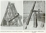 Sir William Herschel's Telescope at Slough. Telescope at the Yerkes Observatory, Chicago
