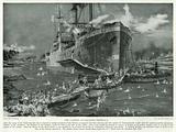 The Landing at Gallipoli Peninsula