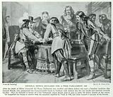 General Monck Declares for a Free Parliament, 1660