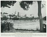 The Palace of the Popes at Avignon, on the Rhone