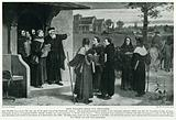 John Wycliffe sends out Preachers
