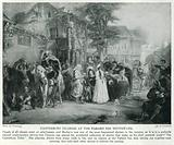 Canterbury Pilgrims at the Tabard Inn, Southwark