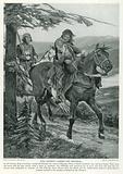King Dermot Carries Off Devorgil