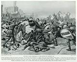 Stephen taken Prisoner at the Battle of Lincoln, 1141