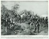 King George at the Battle of Dettingen, 1743