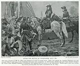 After the Battle of Oudenarde, July, 1708