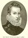 Sir Philip Sidney (B. 1554, D. 1586)