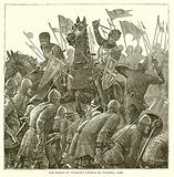 The Bishop of Durham's Charge at Falkirk, 1298
