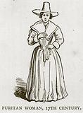 Puritan Woman, 17th Century