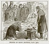 Death of King Alfred, 901 AD