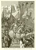 Triumphal Entry of Richard I and Philip Augustus into Acre, 1191