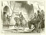 King Edward II Repulsed from Stirling Castle after the Battle of Bannockburn, 1314