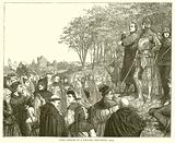 Lord Cobham at a Lollard Preaching, 1413