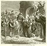 Arrival of Cardinal Wolsey at Leicester Abbey, 1530