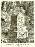 Whittington's Stone at Highgate in 1857