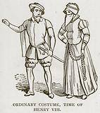Ordinary Costume, Time of Henry VIII