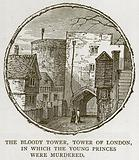 The Bloody Tower, Tower of London, in which the Young Princes were Murdered