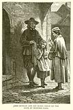 John Bunyan and his Blind Child at the Gate of Bedford Gaol