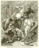 Stephen taken Prisoner at the Battle of Lincoln, 1139
