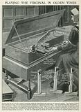 Playing the Virginal in Olden Times
