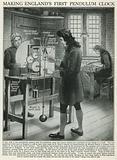Making England's First Pendulum Clock