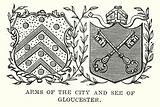 Arms of the City and See of Gloucester