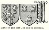 Arms of the City and See of Chester