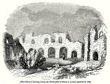 Ruins in Reading Abbey, the Burial-Place of Henry I, as they appeared in 1721