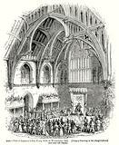 Trial of Lambert before Henry VIII in Westminster Hall