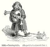 Dancing-Dolls. (Hogarth's Southwark Fair)