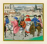 The Canterbury Pilgrimage, late 15th Century
