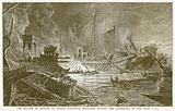 The Battle of Actium, at which Augustus Defeated Antony and Cleopatra in the year 31 B.C.