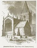 Stratford Church: East End, with Charnel-House