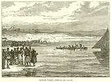 Captain Webb's Arrival at Calais