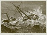 "Wreck of the ""Wool-Packet"" on Bideford Bar"