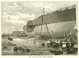 "The Launch of the ""Great Eastern"""