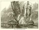 Anson taking Spanish Galleon
