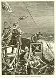 Captain Morgan's Escape from Maracaibo