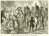 Arrival of Ojeda and his Followers at the Indian Village
