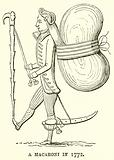 A Macaroni in 1772
