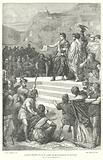 The Emperor Augustus establishing the administrative centre of Roman Gaul at Lugdunum (Lyon), 1st Century BC